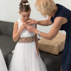 Fille de la mariée