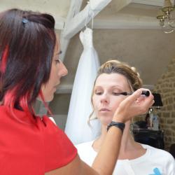 Préparation Maquillage Témoin Château du Faucon